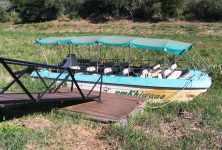 Hluhluwe-Imfolozi boat for river cruises