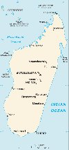 Madagascar map - click to enlarge