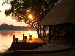 Sunrise at Nkwali Camp - South Luangwa
