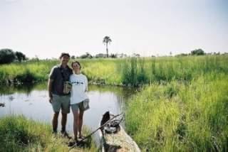 Okavango Delta on a mokoro
