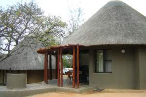 The new improved Pretoriuskop rondavels - Kruger Park accommodation