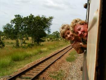 Train journey to Selous