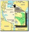 Tanzania serengeti map