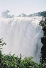 Victoria Falls viewed from the Zambian side
