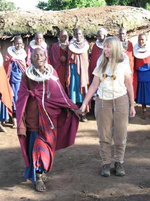 Village visit in Tanzania