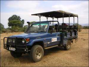 Chachacha safari vehicle