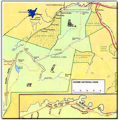 Chobe Map