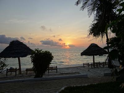 Sunrise in Zanzibar