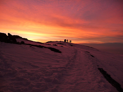Kili summit sunrise
