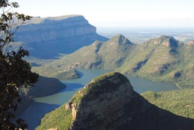 South Africa scenery - Blyde River Canyon