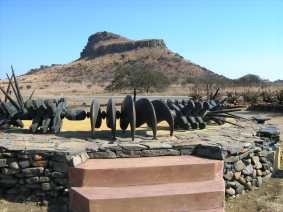 Isandhlawana memorial - © Yvonne Fox