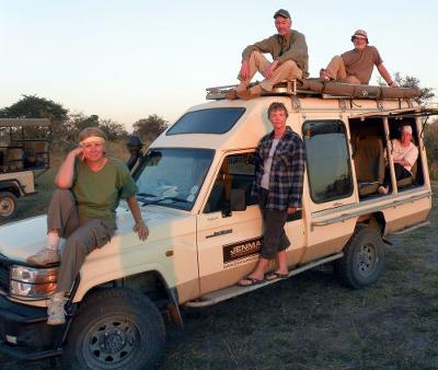 The Trusty Safari Vehicle