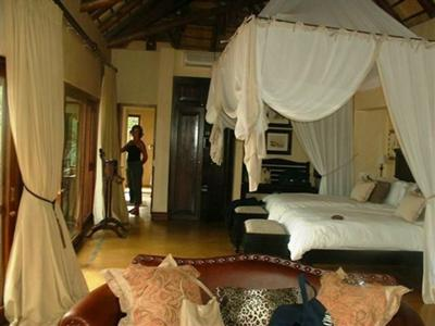 Our suite at Tinga Lodge