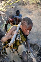 Hunting with Bushmen