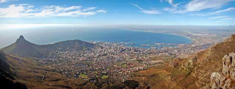 Cape Town view - by Laura K