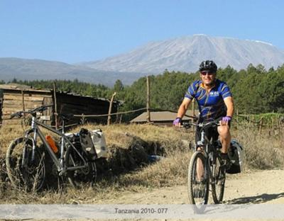 The 6 day endurance bike ride around Kili I did as an intro to the region