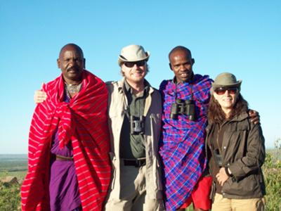 Spending Time With The Maasai