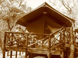 Mpila safari tent - © Yvonne Fox
